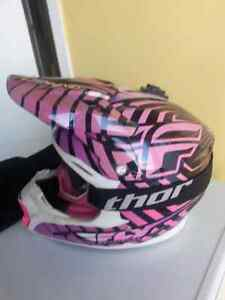 Casque fly large avec lunette thor