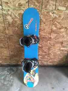Used Childrens/Junior Snowboard,boots,bindings