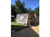 Shed wooden