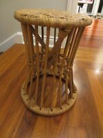 unique wicker stool