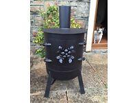 Wood / coal burner