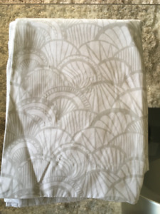 Pebble Scallop, Sarah Richardson Euro Shams, set of 2