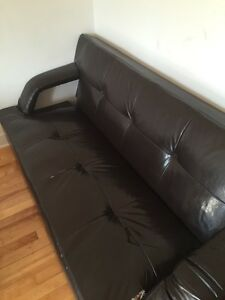 Couch for sell it opens up to be a bed