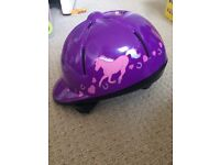 Girls horse riding hat /helmet