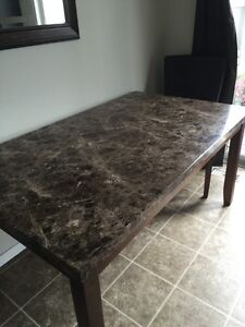 6 person dining table and chairs Cambridge Kitchener Area image 4