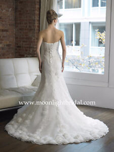 Couture Wedding Dress (Size 5-6)