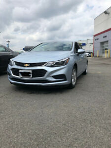 2017 Chevrolet Cruze Lease Takeover $241 all in!