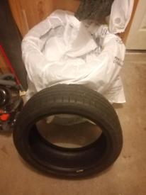 4 off 205 45 R17 part worn winter tyres