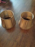 Two Bronze Lampshades $15 for both