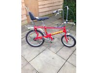 Raleigh chopper mk2.5 with nos 3+2 shifter fitted vw classic