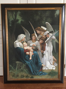 'Song of the Angels' - Bouguereau (1881) prof repro $1420 value