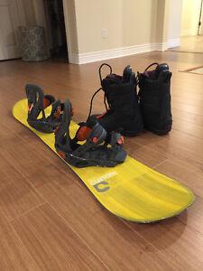 Burton Custom Board, Bindings & Boots