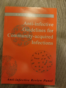 MUMS anti-infective guidelines