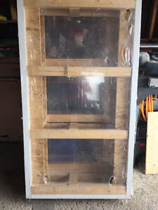 BRAND NEW BASEMENT WINDOWS- GLASS AND SCREEN INCLUDED