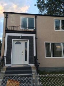 Spacious newly renovated 2 bedroom duplex