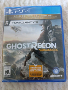 Ghost Recon Wilands Gold edition (unopened)