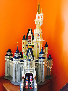 Lego Disney castle with extra Disney figures