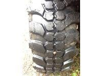 Insa turbo 235/70/16 on grand vitara steel rims good tyre all round set off 4