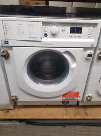 Integrated washer dryer