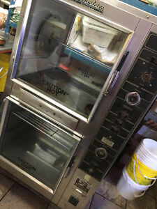 WELL MAINTAINED CHICKEN ROTISSERIE MACHINE AVAILABLE IN BRAMPTON