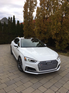 Audi S5 2018 fully loaded, lease transfer