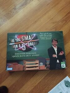 Board Game Are You Smarter Than A 5th Grader?