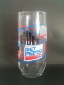 Vintage Diet Pepsi Glass - You Got The Right One Baby Uh Huh