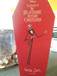 The Nightmare before Christmas Santa Jack in coffin