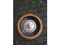 Roulette wheel in good condition