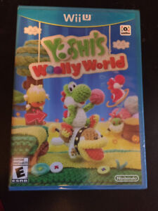 Yoshi's Wooly World Wii U Game Factory Sealed