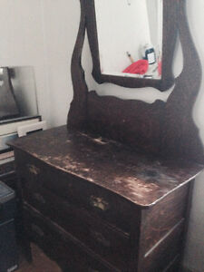 Very old vanity type dresser