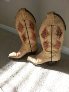 Sanders Ladies Womans Cowboy Cowgirl boots