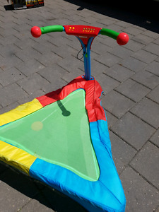 Kids jumping trampoline - ages 1 to 5