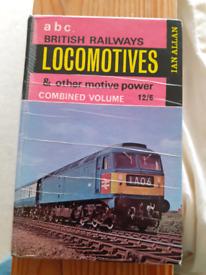 Vintage Locomotive Railway Book