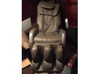 Electric full body massage chair , recliner , a little wear and tear but works perfect