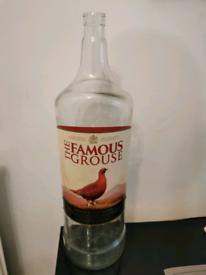 4.5Lt Famous Grouse bottle (empty)