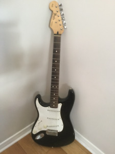 Left Handed Squier Stratocaster Guitar