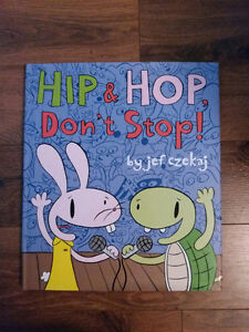 Hard Cover Picture Book Hip & Hop Don't Stop