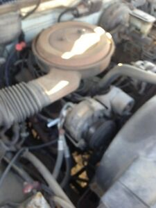 1992 Throttle body injected 350ci small block Chevrolet.