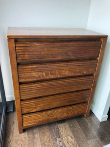 Chest of Drawers, Solid Wood, Made by