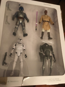 Star Wars 2 Set Of 4 Action Figures