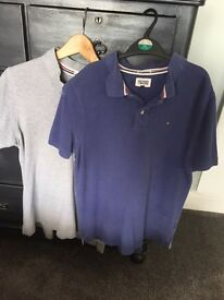 Two men's Tommy Hilfiger polo shirts size xl