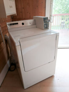 Coin Operated Commercial Washer & Dryer