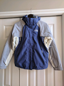 Women's North Face 3 in 1 jacket size small