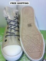 ED HARDY SNEAKS~FUR~THAI GOLD~W 6-7-8~NIB~We carry DC shoes