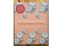 Vintage Fabric Patterns Colouring Book