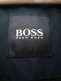Hugo Boss Corban Waterproof Coat Jacket. Black. Large
