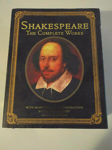William Shakespeare and Edgar Allan Poe collectable hardcovers