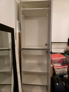Ikea Pax w/ soft close mirrored doors & more - orig $450