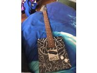 Cigar box electric guitar cheap quick sale look@@!!